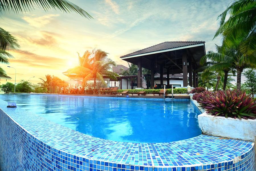hồ bơi jamona home resort