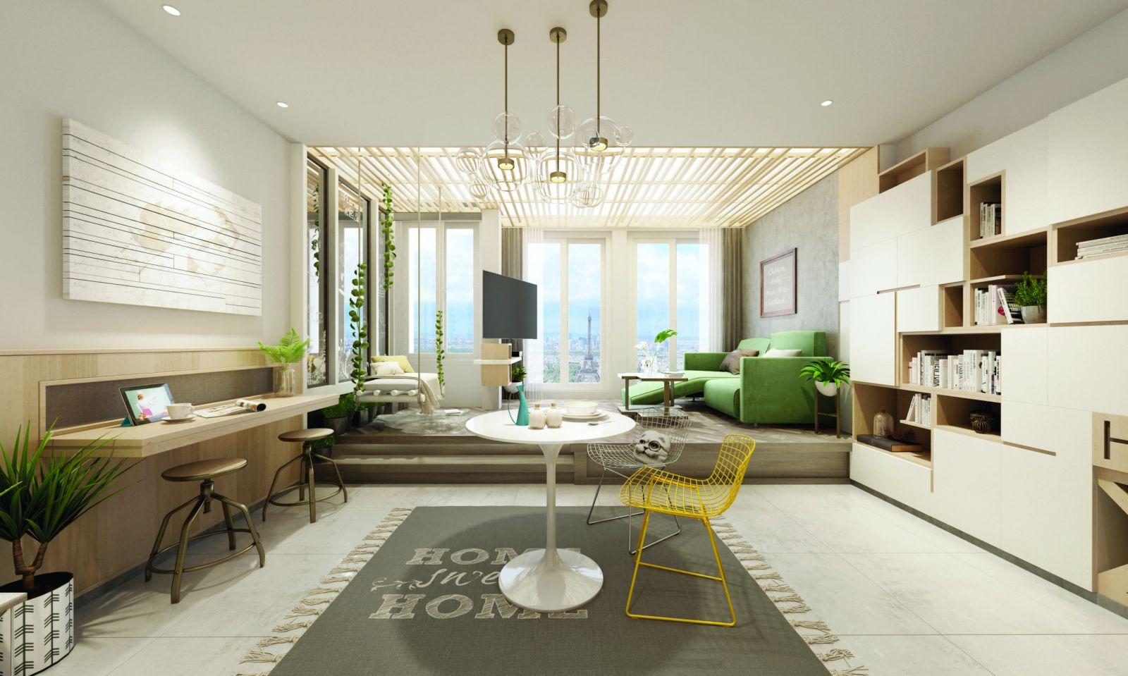 Phòng khách Jamona Heights
