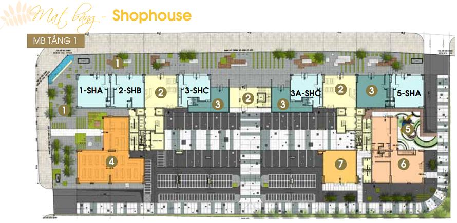 Dự án căn hộ jamona heights Shop House