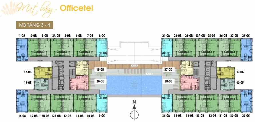 tầng 3 đến tầng 7 dự án jamona heights