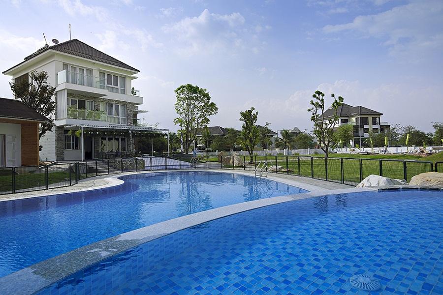 nhà mẫu thực tế jamona home resort