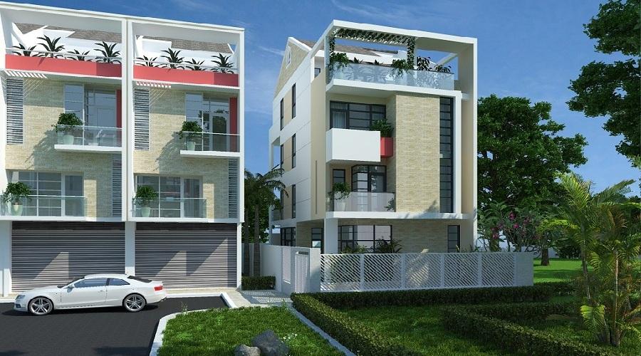 Nhà phố liên kế Sari Residence Jamona Golden Silk