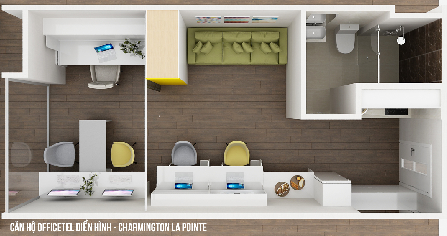 officetel charmington la pointe