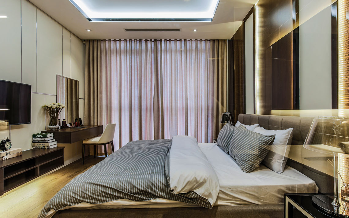 Bedroom jamona sky villas