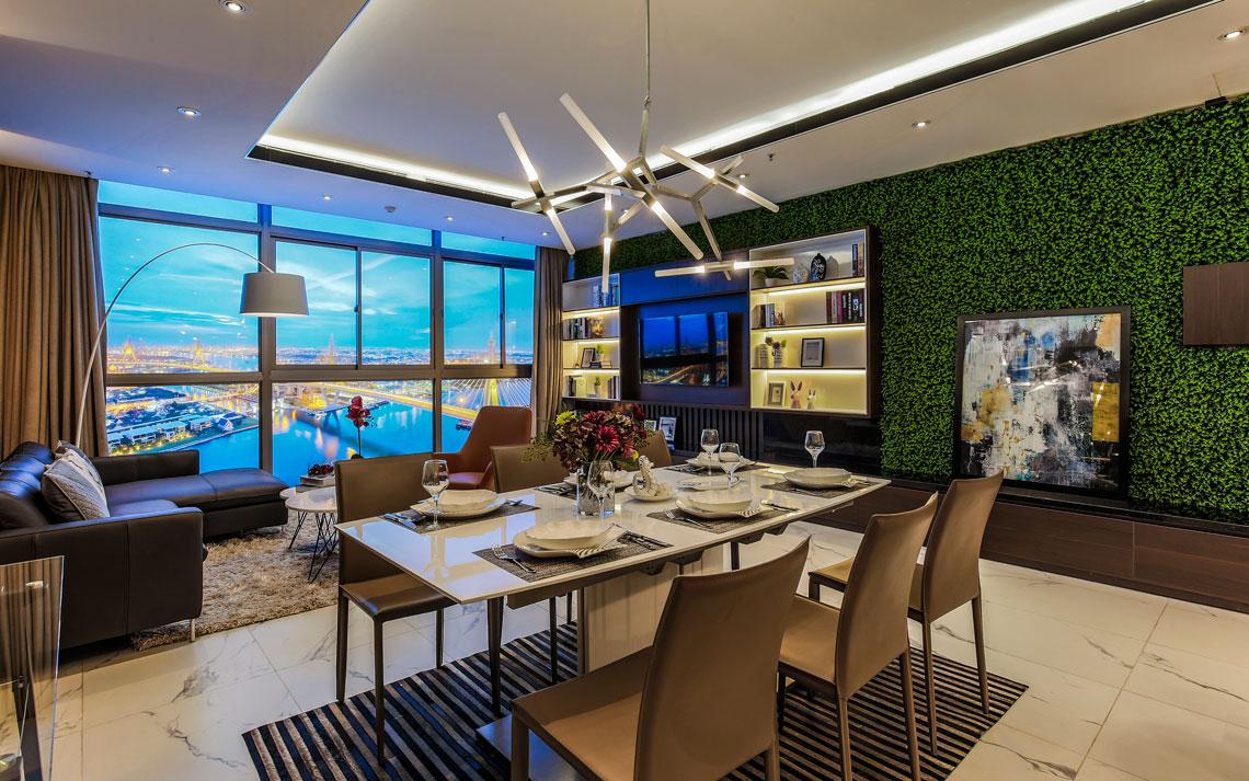 Phòng khách Jamona Sky Villas