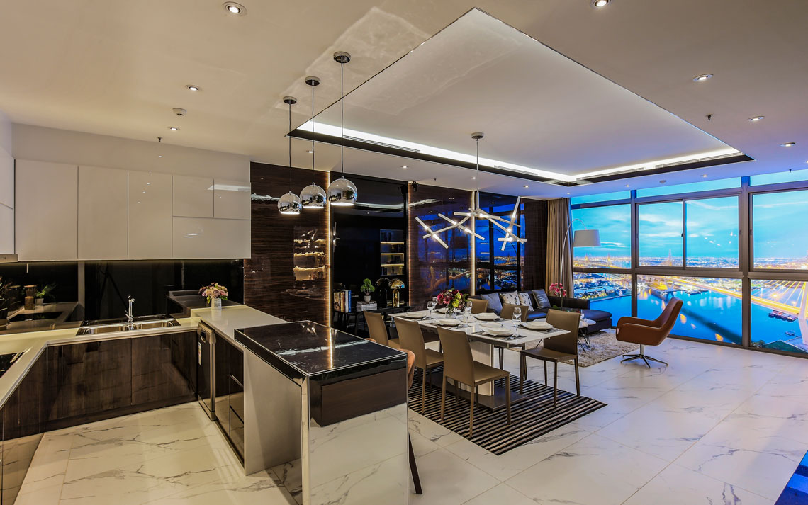 Khu bếp jamona sky villas