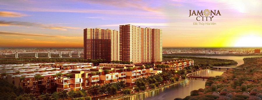 phoi canh sky villas jamona city
