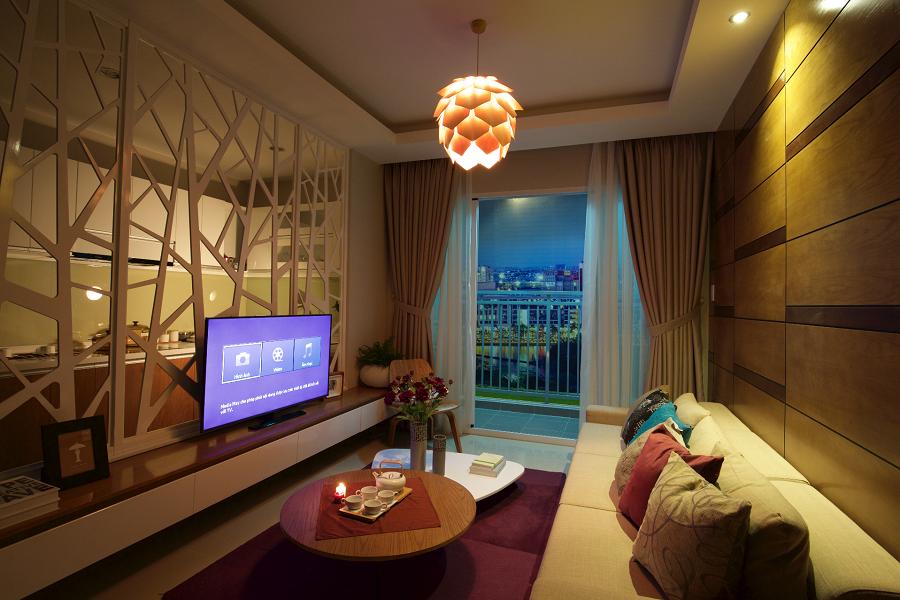 phối cảnh căn hộ Luxury Home