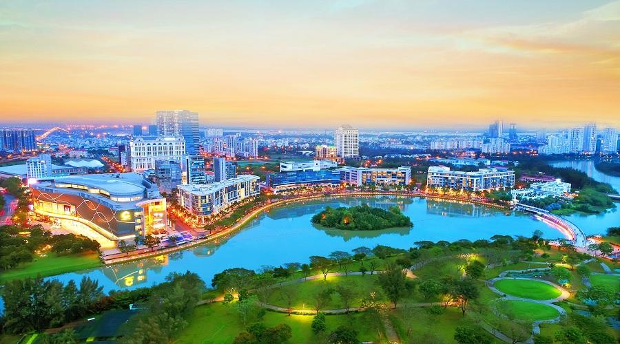 Các đại đô thị sẽ là xu hướng dẫn dắt bất động sản TpHCM
