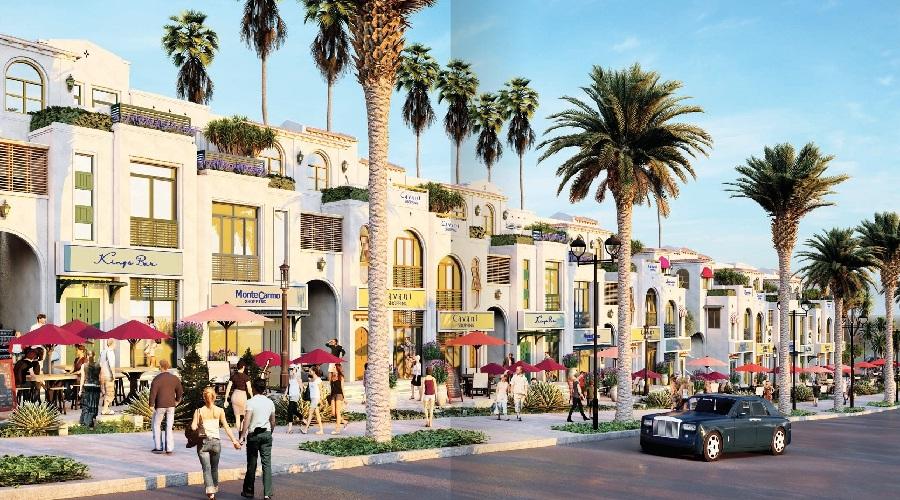 Có những con phố mua sắm Santa Monica Novaworl Phan Thiet sôi động phong cách Bermuda (Bắc Mỹ)