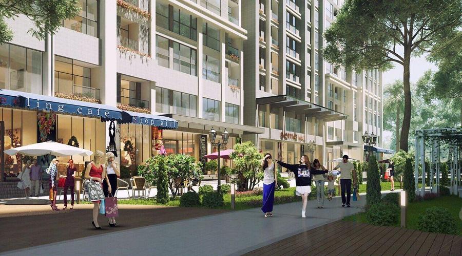 Shophouse thu hút mạnh mẽ giới đầu tư