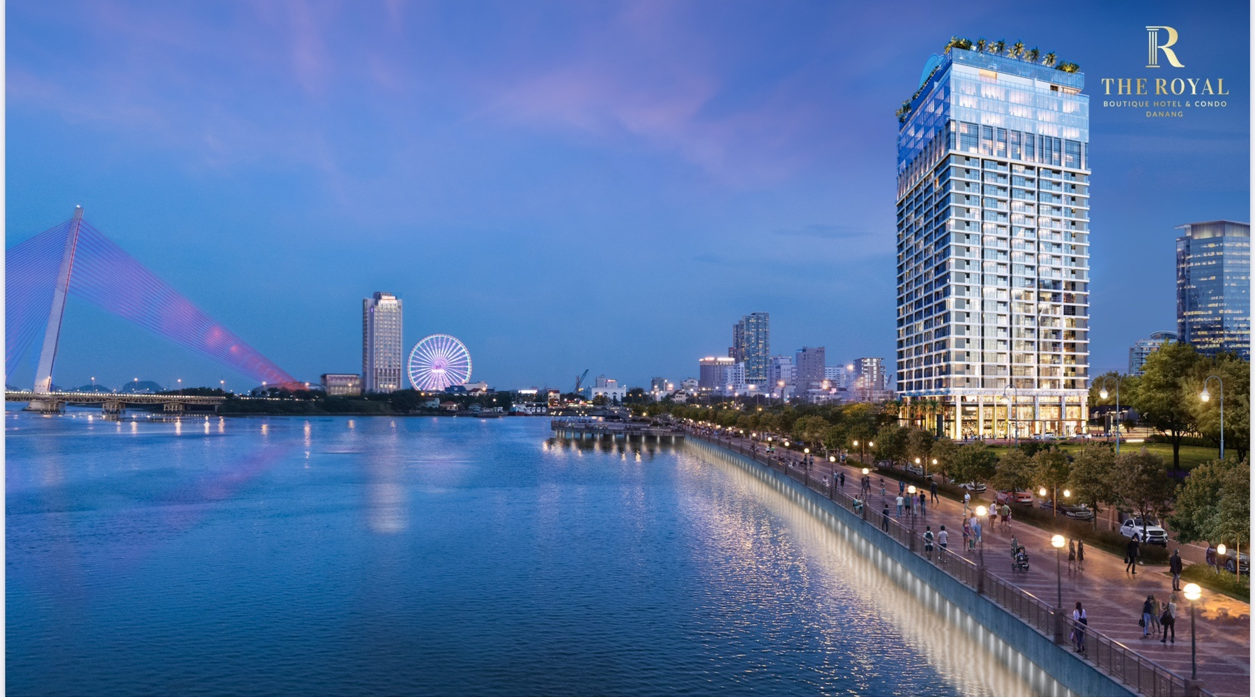 Kiến trúc độc bản thu hút mọi ánh nhìn từ The Royal Boutique Hotel & Condo Danang