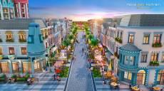 Shophouse đại lộ Novaworld Hồ Tràm thu hút giới đầu tư