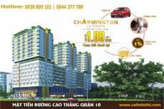 Cập nhật tiến độ xây dựng Charmington La Pointe Cao Thắng, Quận 10