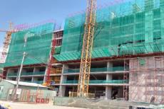 Sacomreal: sẵn sàng đổ bê tông tầng 10 Luxury Home